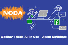 December 6: Webinar: Noda Contact Center - Agent's Scripting