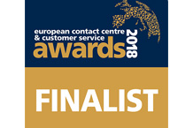 NODA becomes the finalist of European Contact Centre & Customer Service Awards